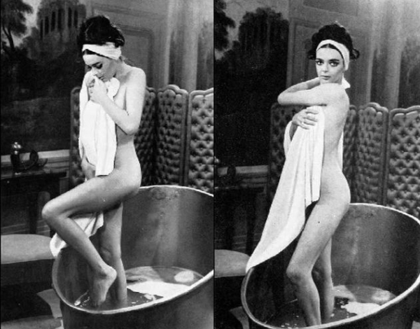 Barbara Steele Nude